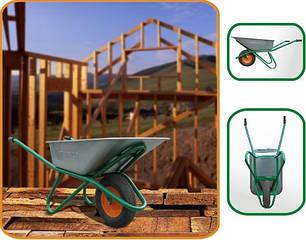 Тачки строительные, садовые, тележки