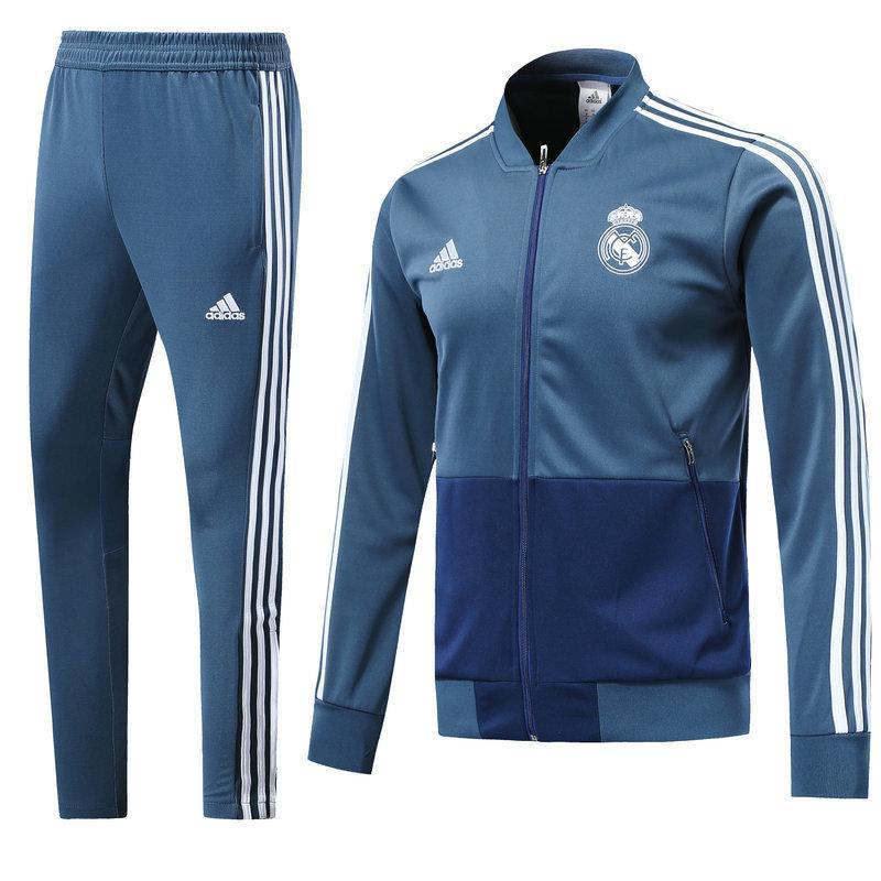 Тренировочный костюм FC Real Madrid Adidas 2018/19 blue