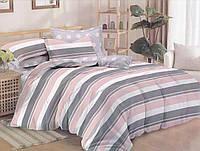 Комплект постельного белья сатин двуспальный Полоса