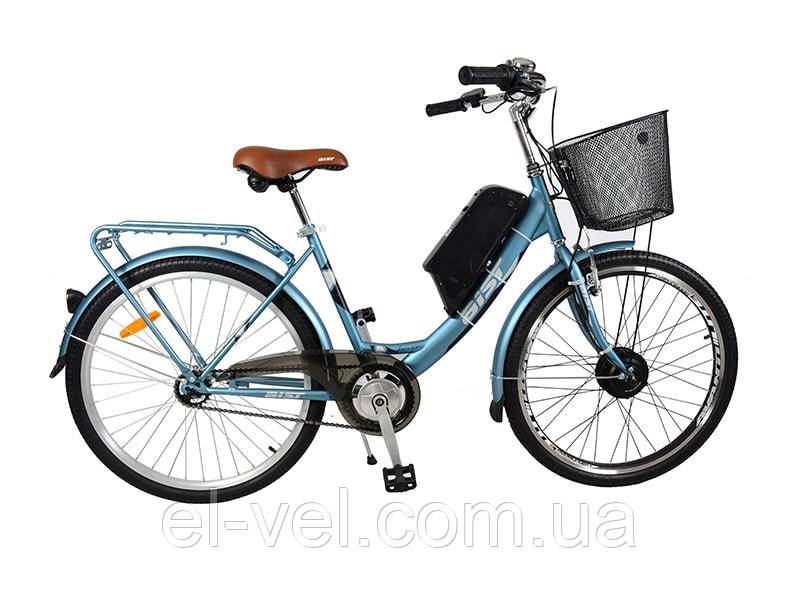 Электровелосипед АИСТ Jazz 1.0 XF07 LED900S 36В 350Вт литиевая батарея 8,8/11/13,2/14,5 Ач