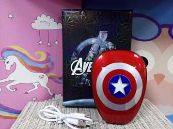 Детский повербанк Power bank Капитан Америка 12000 mAh