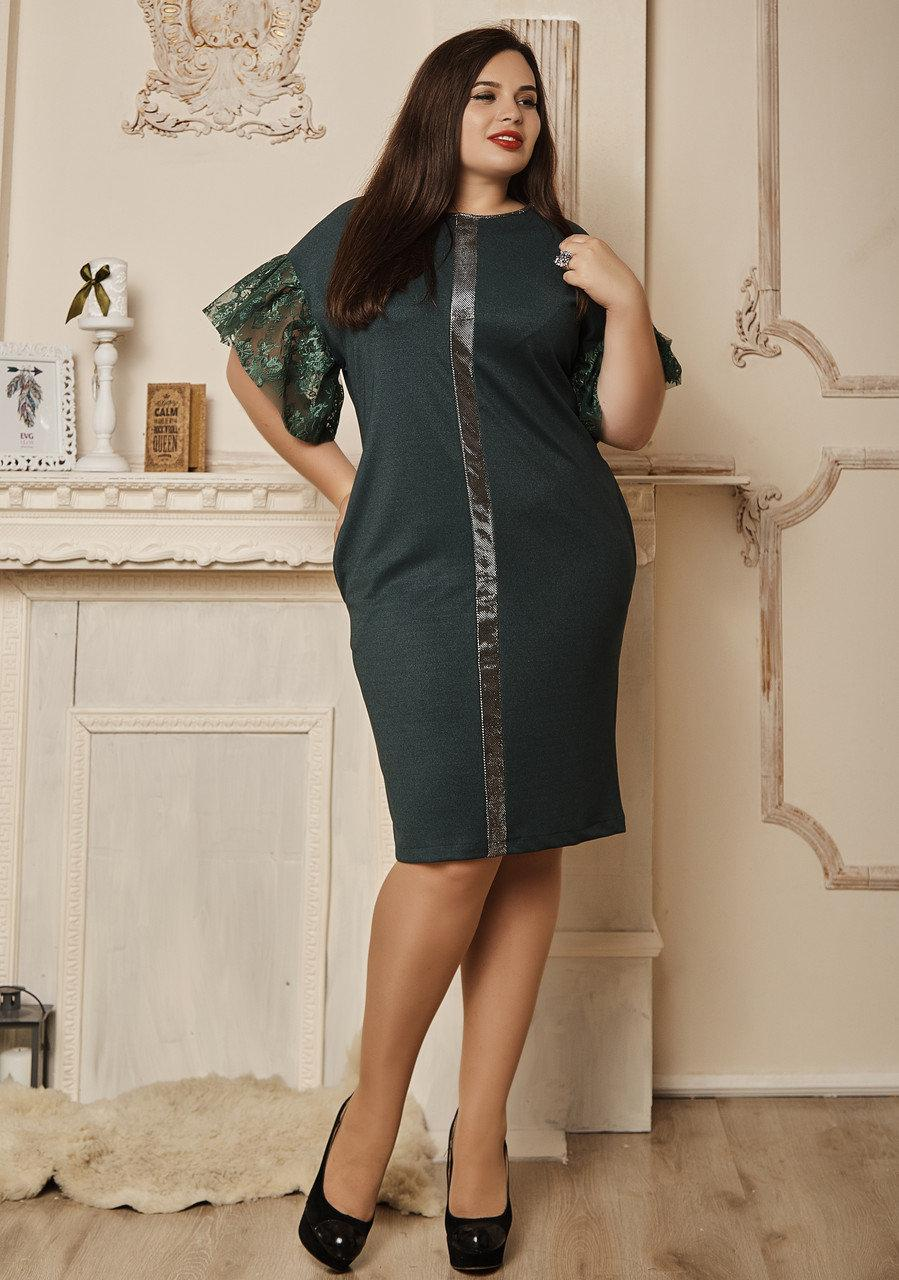 Красивое платье короткий рукав