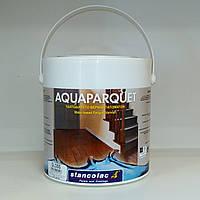 Лак паркетный полиуретановый на водной основе глянцевый Станколак 1690 2,5 литра