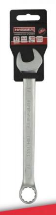 Ключ комбинированный CRV Cold Stamped 22мм Haisser (48422) с подвеской