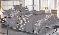 Комплект постельного белья сатин двуспальный Звездопад