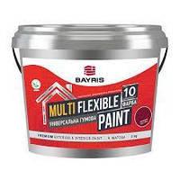 """Універсальна гумова фарба """"Multi Flexible Paint"""" 3 кг, Бордовий (RAL 3005)"""