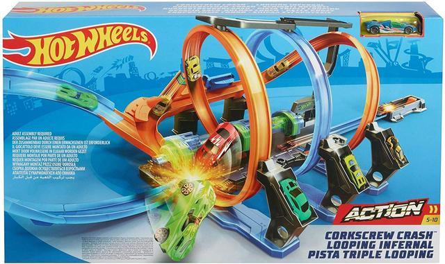 Трек Hot Wheels Скоростные гонки