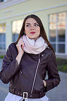 Женский платок Маре (пудра+люрекс)