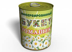 Консервований букет ромашок - Букет квітів