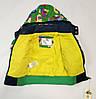 Детский демисезонный комбинезон куртка и штаны для мальчика зелёный 4-5 лет, фото 4