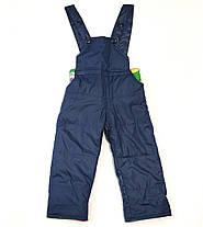 Детский демисезонный комбинезон куртка и штаны для мальчика зелёный 5-6 лет, фото 2