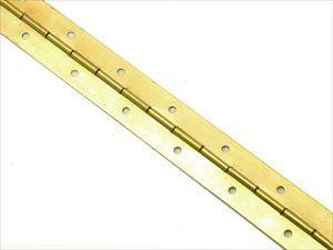 Петля рояльная 1700 мм золото
