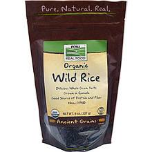 """Дикий рис NOW Foods, Real Food """"Wild Rice"""" органический (227 г)"""