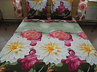 Комплект постельного белья ранфорс Цветочный микс