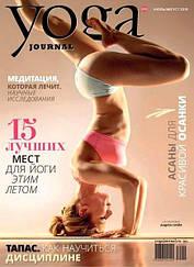 Журнал Yoga Journal (Йога) №103 июль-август 2019