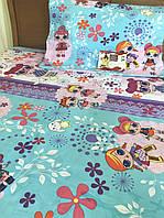Комплект постельного белья 145х215 с куклами Лол