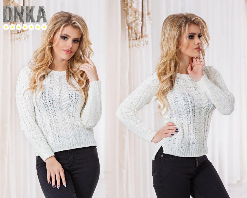 Женский стильный свитер  ДГр2700
