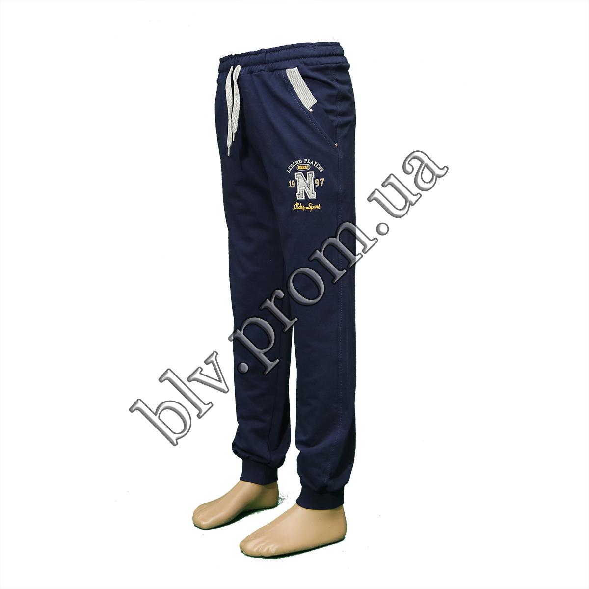 Подростковые трикотажные брюки пр-во Турция 4317