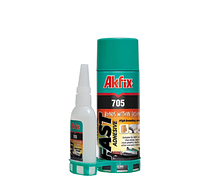 Супер клей AkFix 705 набор 50мл+200мл