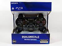 Беспроводной игровой Bluetooth джойстик геймпад DualShock PS3 для ПС3 Черный