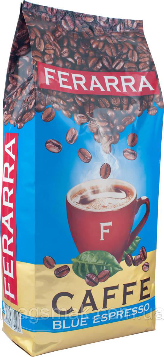 Кофе в зернах Ferarra Blue Espresso 1кг.