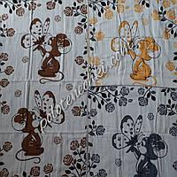 Банное полотенце Крысенок с бабочкой