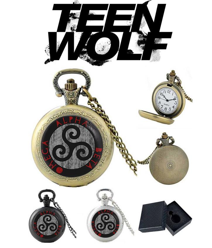 Карманные часы Трискель Трискелион Волчонок / Teen Wolf