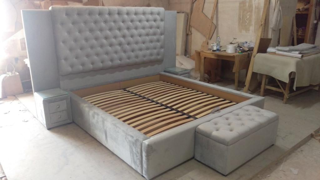 Двоспальне ліжко на замовлення. 2