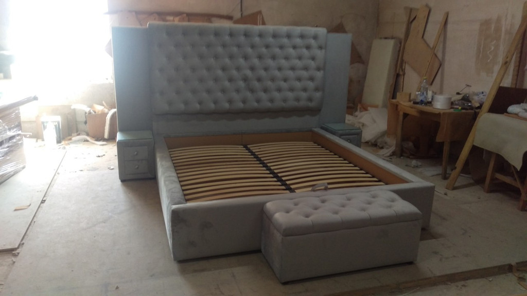 Двоспальне ліжко на замовлення. 3