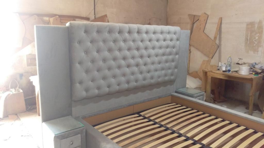 Двоспальне ліжко на замовлення. 8