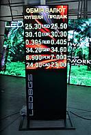 Табло обмен валют RGB (1000х680, 6 валют), фото 1