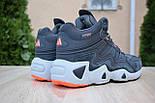 Зимние мужские кроссовки Adidas Equipment FYW S-97 серые 41-46рр. Живое фото. Реплика, фото 4