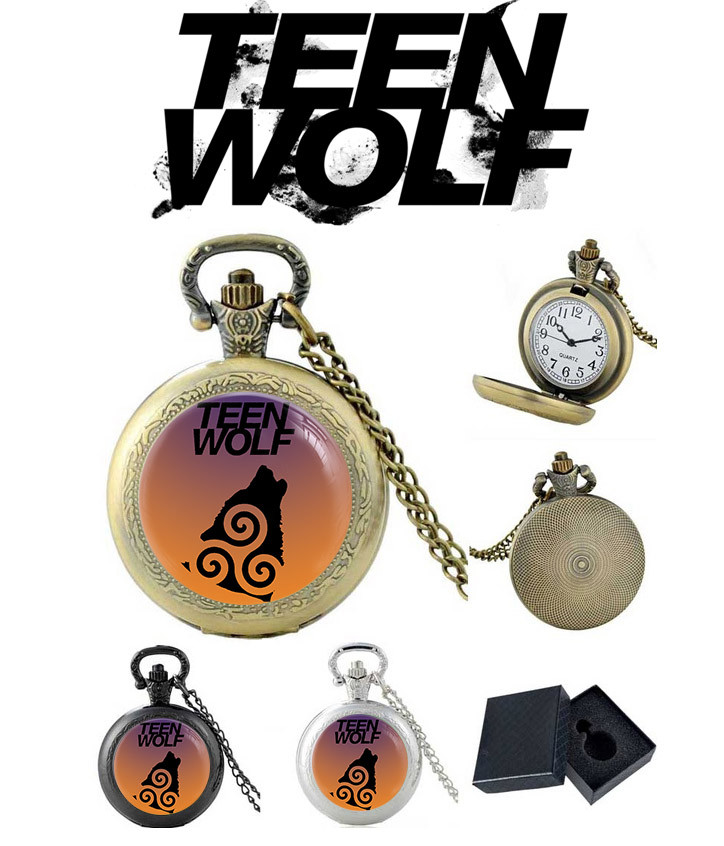 Карманные часы Трискель Трискелион и волк Волчонок / Teen Wolf