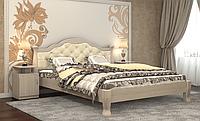 Кровать Татьяна-элегант Люкс 120х190, Дуб шамони светлый
