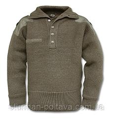 Свитер мужской горный  армейский  Armee-Pullovers  состав шерсть   цвет  олива  производство MiL-Tec  Германия