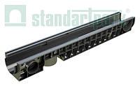 Лоток водоотводной PolyMax Basic ЛВ-10.16.12-ПП пластиковый усиленный 8027