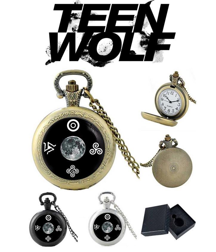 Карманные часы символы Волчонок / Teen Wolf