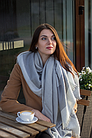 Женский платок Хейли (серый)
