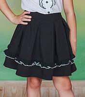 Школьная юбка с рюшей, фото 1