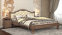 Кровать Татьяна-элегант Люкс 160х200, Дуб шамони темный