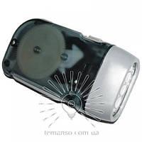 Фонарик LEMANSO 3 LED серый / LMF33