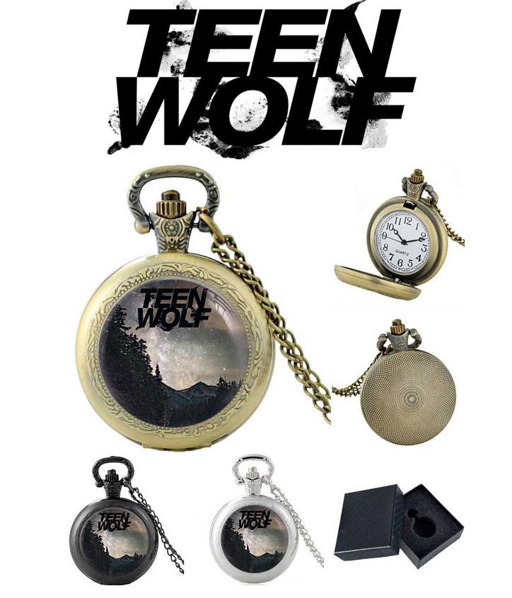 Карманные часы лес Волчонок / Teen Wolf