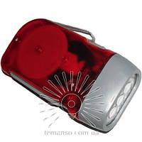 Фонарик LEMANSO 3 LED красный / LMF33