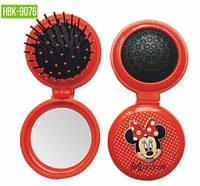 HBK-9076 Детская щетка для волос c зеркалом LUXURY