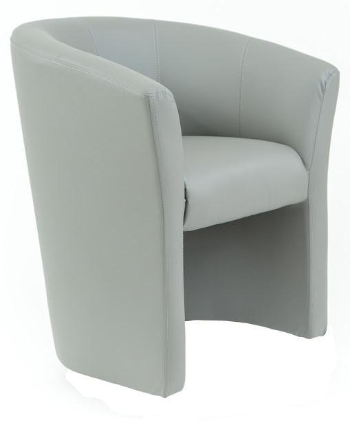 Кресло Бум 1 кат. серое