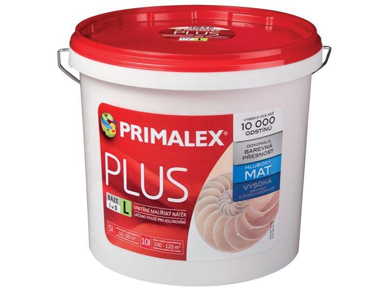 Краска интерьерная Primalex Plus 40кг Экстра-белая