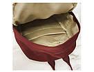 Рюкзак для девочки в японском стиле с аниме Хародзюку бардовый., фото 5