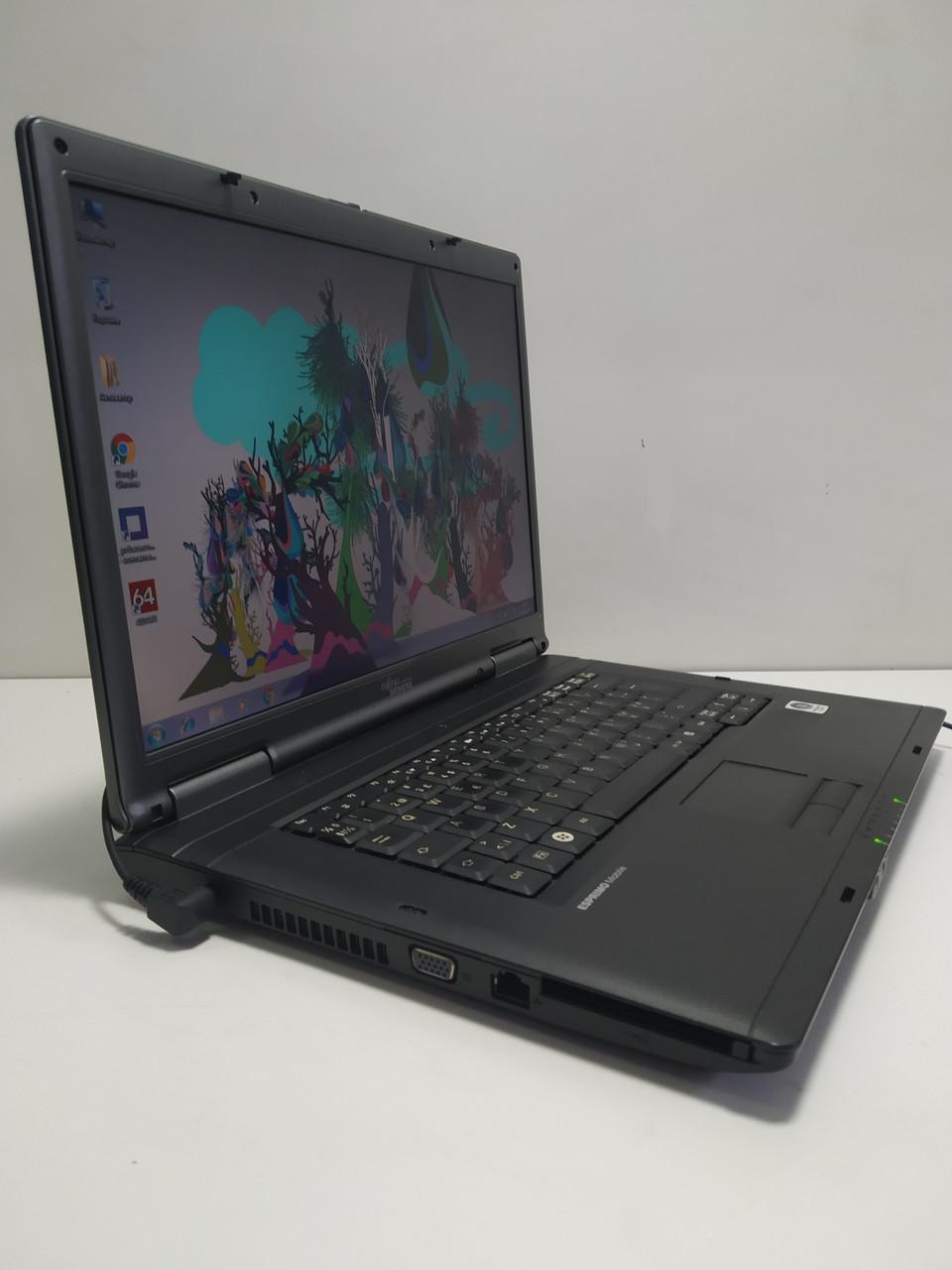 """15.4"""" Fujitsu Esprimo V5535\ Intel 2 ядра T7300 2.0 \ 2 ГБ DDR2 \ 160 ГБ HDD\ Батарея до 3 часов\ НЕ США"""
