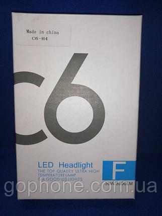 Комплект LED ламп C6 HeadLight H4 36W/3800LM Ксенон, фото 2