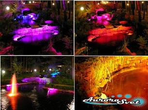 Подсветка ландшафтного водоема